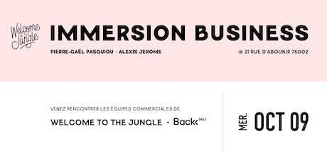 Immersion dans les équipes Business de Welcome to the Jungle et Back Market billets