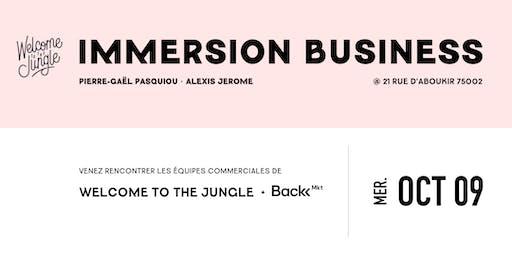 Immersion dans les équipes Business de Welcome to the Jungle et Back Market