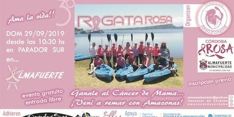 """3° Regata Rosa """"Ganale al Cáncer de Mama, Vení a Remar con Amazonas!"""" entradas"""
