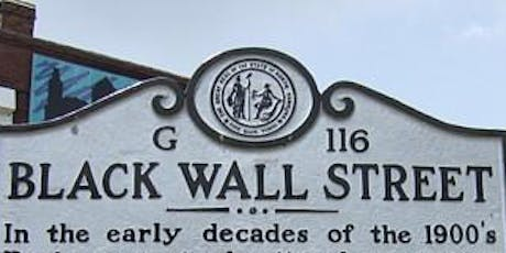 Charlotte Mecklenburg Library Presents: Black Wall Streets, USA tickets
