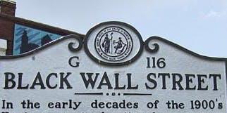 Charlotte Mecklenburg Library Presents: Black Wall Streets, USA