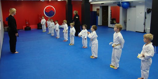Free Introductory Little Ninja class for 3-5 year olds