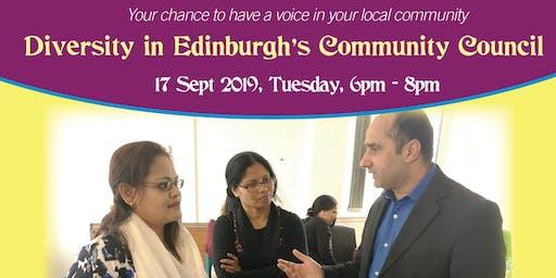 Diversity in Edinburgh's Community Councils