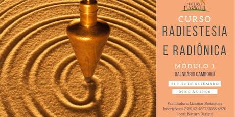 Curso de Radiestesia e Radiônica - Módulo 1 ingressos