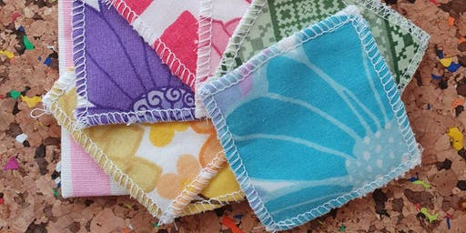 LEARN TO SEW: Make Your Own Sustainable Washable Face Pads for Beginners and Improvers at West Elm Westfield London