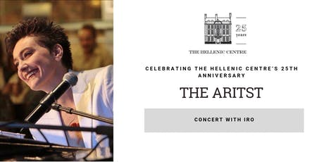 """""""The Artist"""" Concert with IRO tickets"""