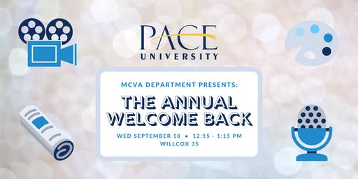 Welcome Back - MCVA Department