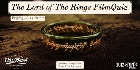 The Lord of The Rings FilmQuiz tickets