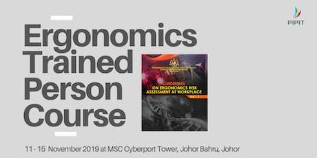 Ergonomics Trained Person Course (Johor) tickets