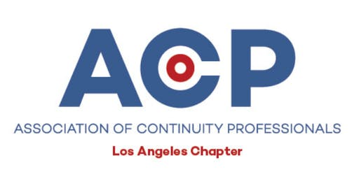 ACP - Los Angeles Chapter Meeting - October 8th 2019