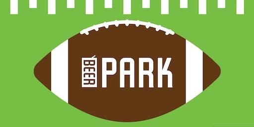 Steelers V. Seahawks in the Beer Park