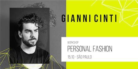 Workshop SP | Personal Fashion por Gianni Cinti ingressos