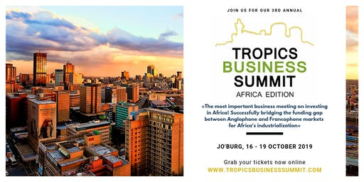 "TROPICS BUSINESS SUMMIT ""Meet-and-Greet"" 2019 at Epicure Restaurant Sandton"