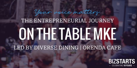 On the Table MKE | The Entrepreneurial Journey tickets