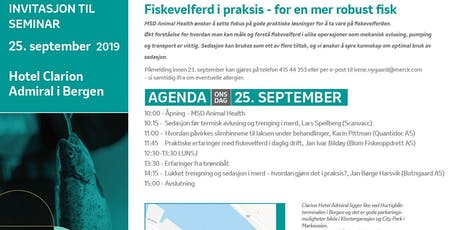 Fiskevelferd i praksis - for en mer robust fisk tickets