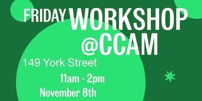 CCAM Workshop with Marijke Jorritsma: Solving for Creative Practice
