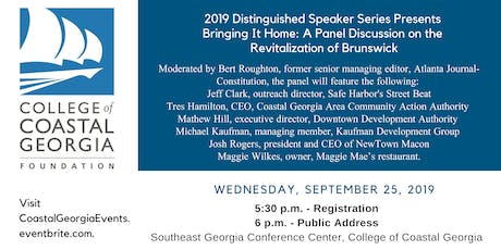 Bringing It Home: A Panel Discussion on the Revitalization of  Brunswick tickets