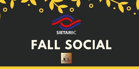 SIETAR BC Fall Social tickets
