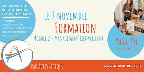 Formation - Management bienveillant (Module 2) billets
