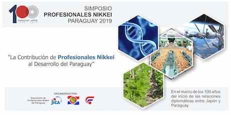 Simposio Profesionales Nikkei entradas