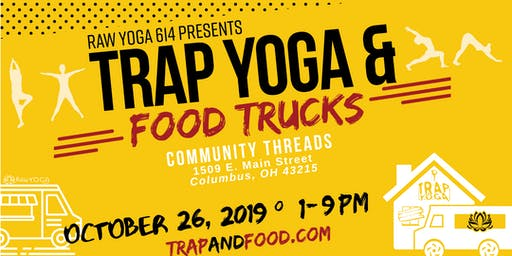 TRAP YOGA & FOOD TRUCKS: Halloween Edition!
