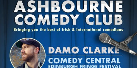 Ashbourne Comedy Club: with Damo Clark tickets