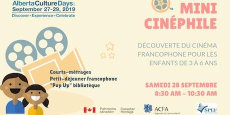 Mini-cinéphile : découverte du cinéma pour les 3-6 ans tickets