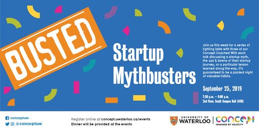 Intro Session: Startup Mythbusters