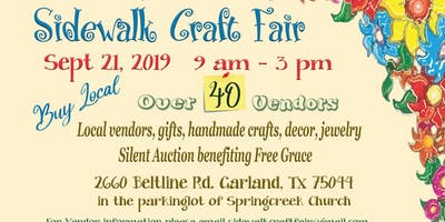 Sidewalk Craft Fair