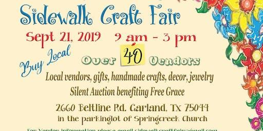 Sidewalk Craft Fair