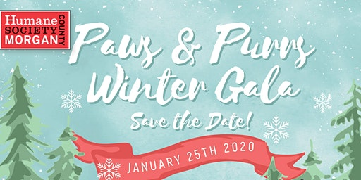 Paws & Purrs Winter Gala - Humane Society of Morgan County