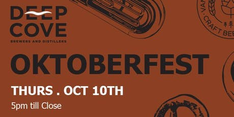 Deep Cove Brewery - Oktoberfest! tickets
