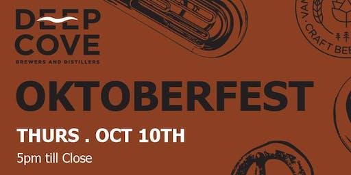 Deep Cove Brewery - Oktoberfest!