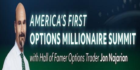 Options Millionaire Summit With Jon Najarian tickets