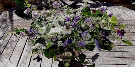 Summer Flower Posy Workshop at Mells walled Garden tickets
