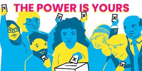 Engaging Democracy in Communities: Vote PopUp Training (TORONTO) tickets