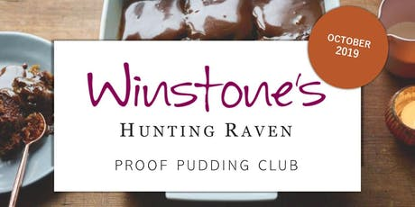 October Proof Pudding Club by Hunting Raven Books tickets