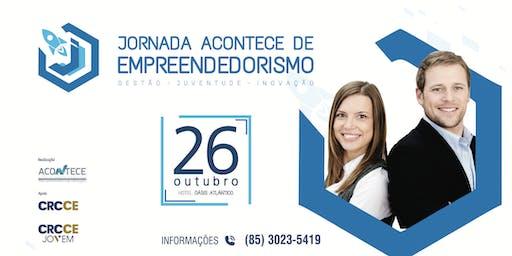JORNADA ACONTECE DE  EMPREENDEDORISMO