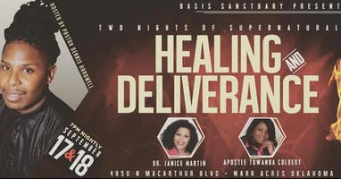 Two Nights of Supernatural Healing & Deliverance
