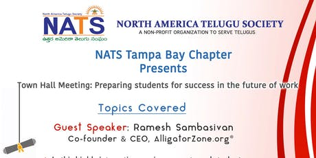 Town Hall Meeting: Preparing students for success in the future of work tickets