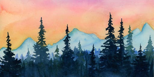 Brushes and Brews: A Watercolor Workshop