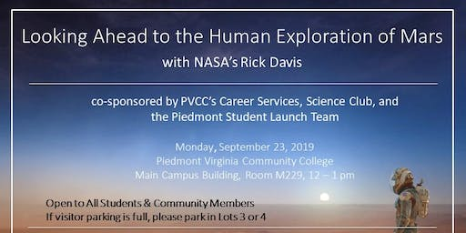 Looking Ahead to the Human Exploration of Mars