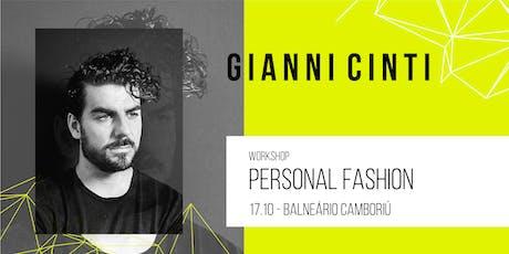 Workshop Balneário Camboriú | Personal Fashion por Gianni Cinti ingressos