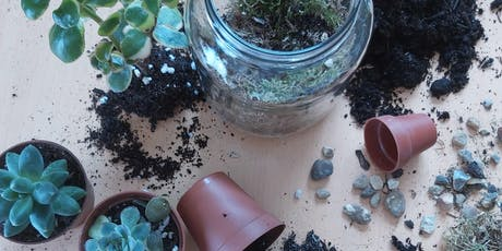 Make a Mini Protest Terrarium at Clitterhouse Farm NW2 tickets