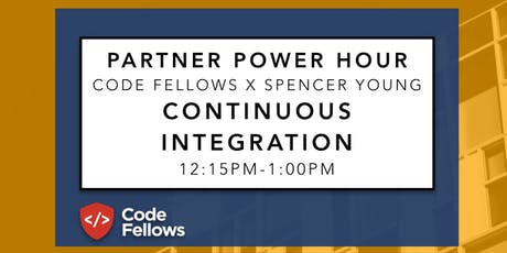 Partner Power Hour: Continuous Integration tickets