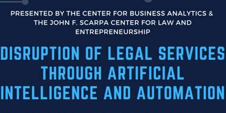 Disruption of Legal Services through AI & Automation - Senior Leadership Panel tickets
