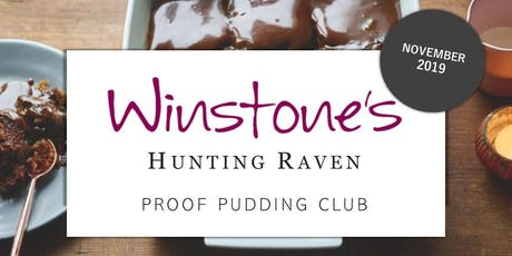 November Proof Pudding Club by Hunting Raven Books tickets
