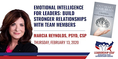Emotional Intelligence for Leaders: Build Stronger Relationships with Team Members with Marcia Reynolds tickets