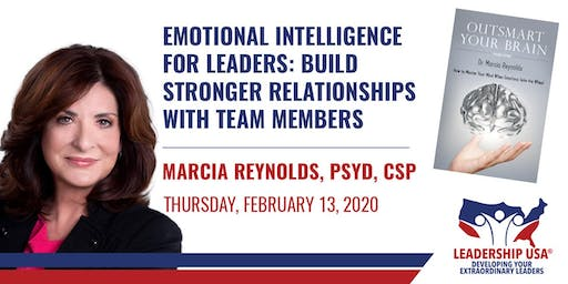 Emotional Intelligence for Leaders: Build Stronger Relationships with Team Members with Marcia Reynolds