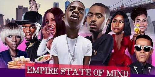 Empire State of Mind Brunch & Day Party - All NYC & Tri-Sate Area Hip Hop & R&B
